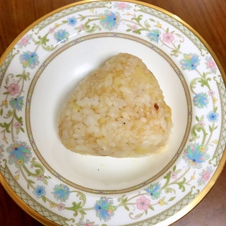 レンコ鯛とマッシュポテトのおにぎり~醤油味