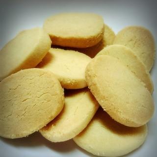 卵、バター不使用!簡単ココナッツオイルクッキー