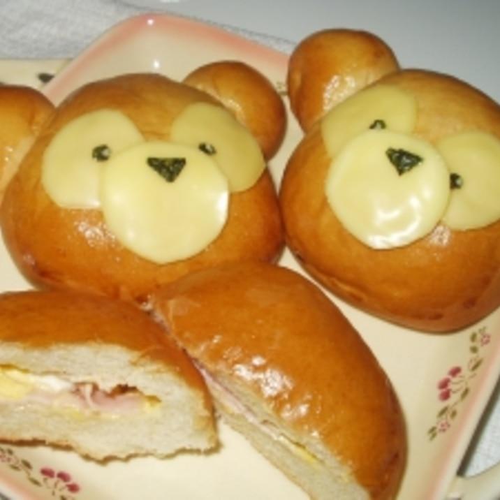 ダッフィー ハムたまチーズパン