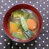 緑黄色野菜DEお味噌汁