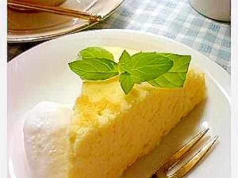 ふわふわ!炊飯器でシフォンケーキ