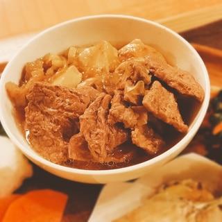 低残渣仕様の肉豆腐【190kcal 脂質8g】