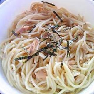 離乳食☆ツナとキノコの和風パスタ(1歳5カ月~)