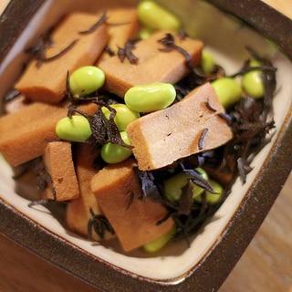 ヘルシーな作り置き!高野豆腐のさっぱり煮