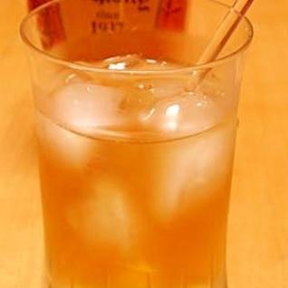 ウイスキーもカクテル風に☆アップルジュース割り