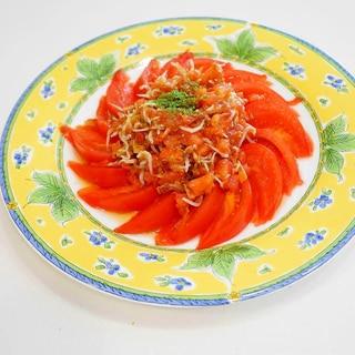 トマト好き限定!トマトの梅トマトドレッシングサラダ