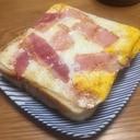 卵焼き器で作る「たまごパン」