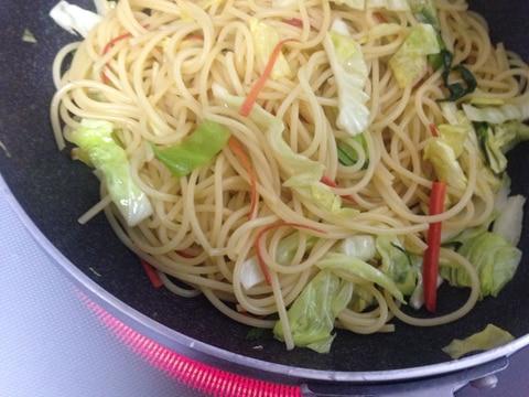 パスタ 白菜