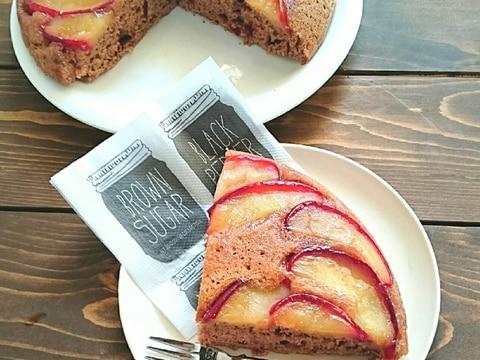 HMとフライパンで作る♪アップルココアケーキ