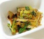 葉セロリの炒め物