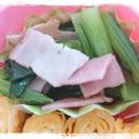 お弁当の隙間おかず☆小松菜とベーコンのソテー