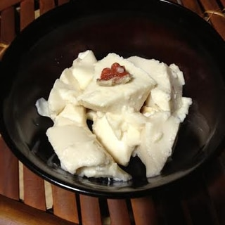 濃厚♪ブラマンジェ風 杏仁豆腐