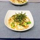 豆腐となめこのキムチ煮