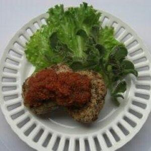 ベジバーグ基本編(有機野菜とグルテンバーガー)