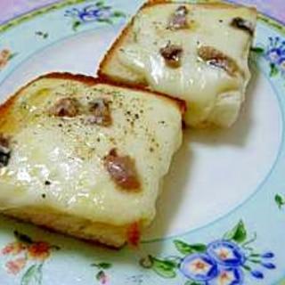 アンチョビ★大人のチーズトースト