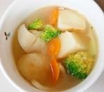 じゃがいもの中華スープ
