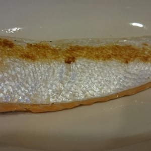 フライパンで鮭ハラス塩焼き