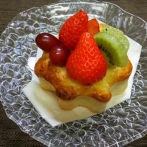 フルーツカスタードパン【No.322】