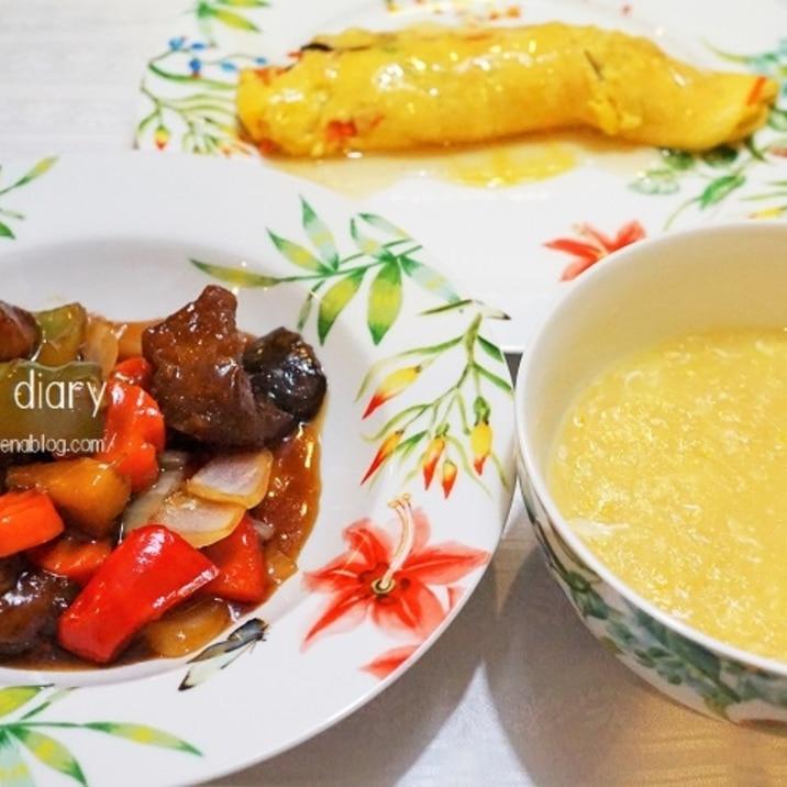 ♪中華風とうもろこしスープ♪