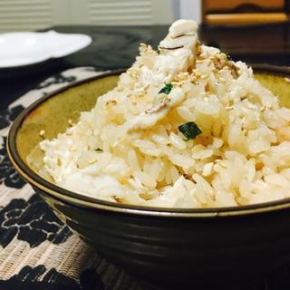 炊飯器で簡単☆鯛めし☆余った鯛の塩焼きを豪華に!
