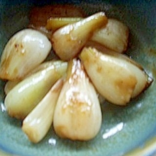 エシャロットの焼きサラダ