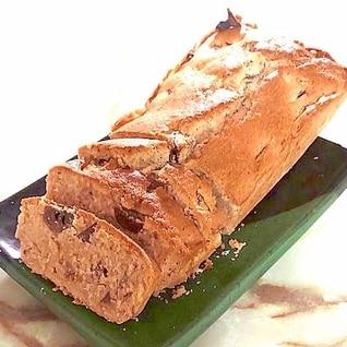 栗の渋皮煮で!栗がたっぷりパウンドケーキ♪