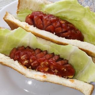 簡単!食パンで作るホットドッグ