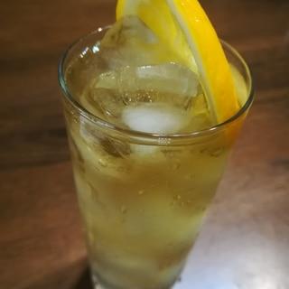 国産レモンのおいしい水割り