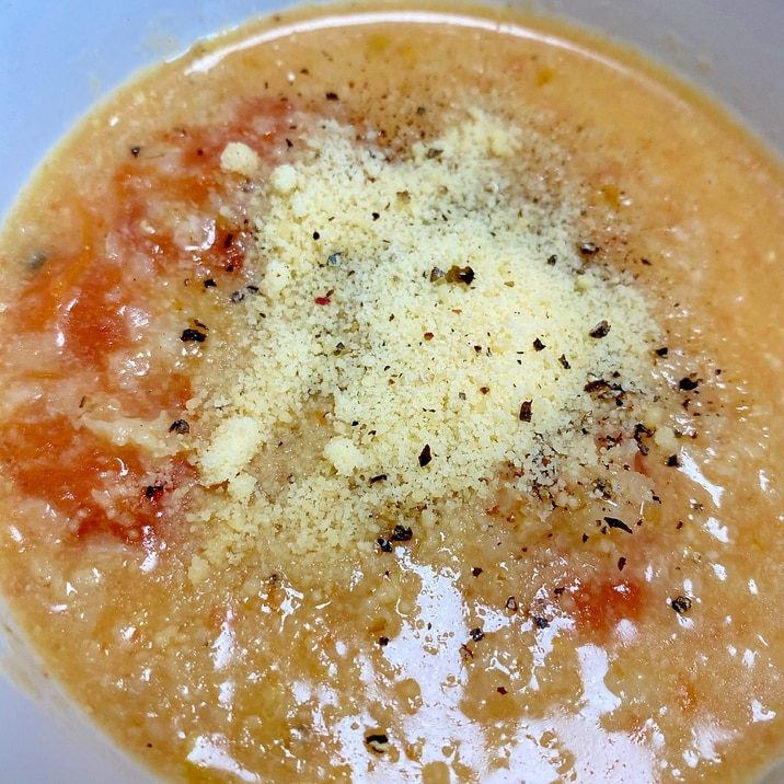 オートミール トマト リゾット