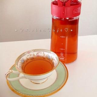 簡単!!まろやか♡自然な甘みの水出し紅茶