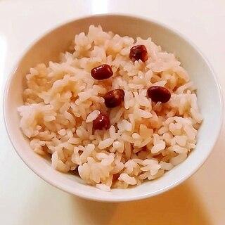 母の日に☆圧力鍋でうるち米だけの赤飯