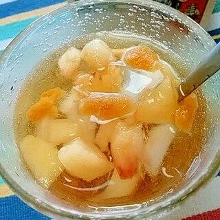 アイス☆桃とマンゴーのアールグレイ♪