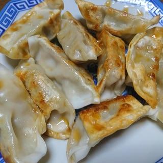 チルド餃子の美味しい焼き方