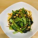 副菜もう一品に⭐️小松菜と小海老のオイスター炒め