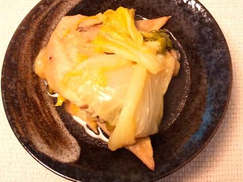 手羽先と白菜のくたくた煮
