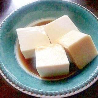 【栄養美人肌】豆腐みたい!ヘルシー豆乳寒天
