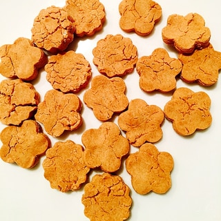 幼児食☆豆腐ときな粉と片栗粉のクッキー