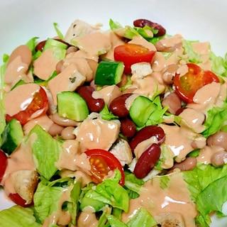 缶詰の豆で簡単!  豆のサラダ