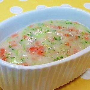 【離乳食】ツナ&ブロッコリーのホワイトソース煮