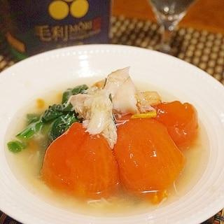 【熊本食材】トマトとかんじめほうれん草の蟹餡
