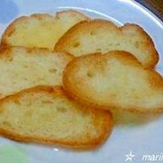 フランスパンで簡単ラスク