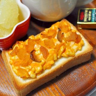 福神漬タルタルトースト