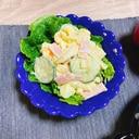 料理の合間に❤簡単ゆで卵入りマカロニサラダ