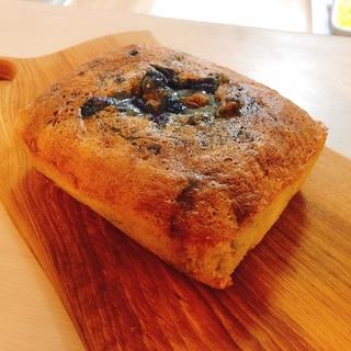 米粉のブルーベリーパウンドケーキ