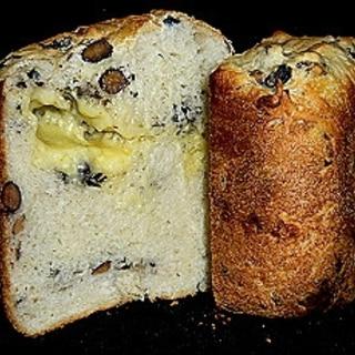 黒豆チーズ食パン
