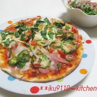 おウチで簡単!美味しいミックスピザ
