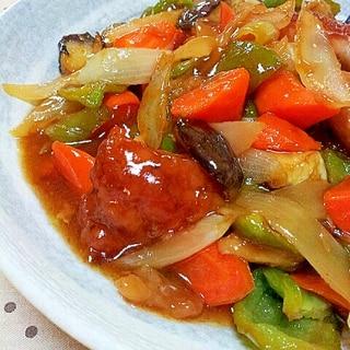 酢豚じゃないよ✿酢鶏❤野菜たっぷり鶏肉のあんかけ