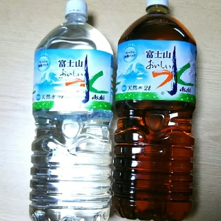 2リットルペットボトルで麦茶を作る方法
