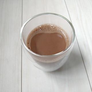 インスタントコーヒーで★甘くないカフェモカ