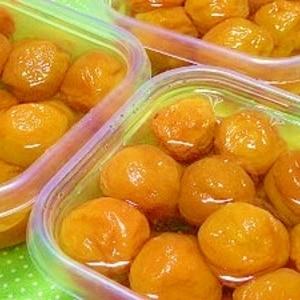 完熟梅・節田梅で作る☆炊飯器で梅の甘露煮